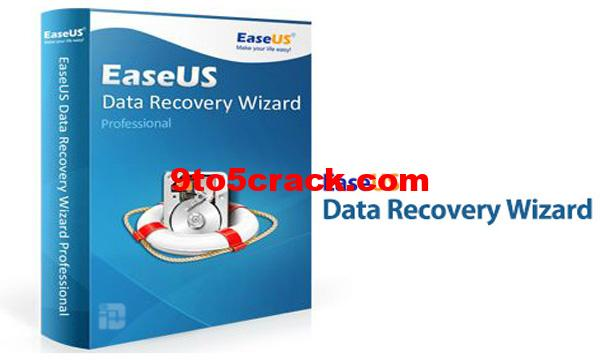EaseUS Data Recovery Wizard 13.2 Crack & License Code Key Generator
