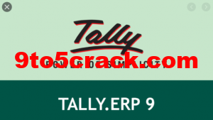 Tally ERP 9 Release 6 Crack Free Download Full version Patch